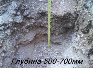 Длина траншеи под сейсмостолбы