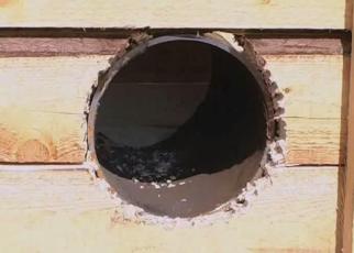 Вентиляционное отверстие - фото