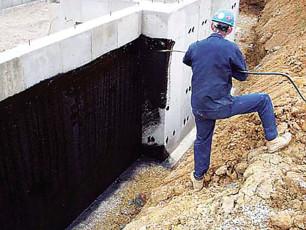 Напыляемая гидроизоляция