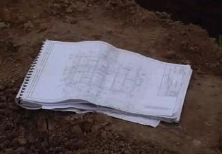Проектирование фундамента на листе бумаги