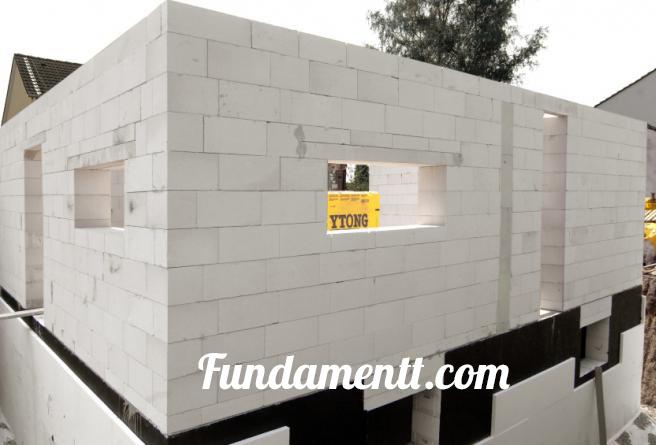 Фундамент своими руками под одноэтажный дом из