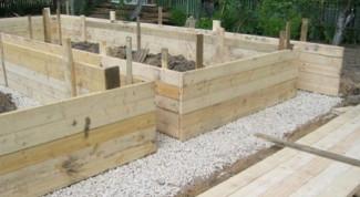 Делаем опалубку для заливки бетона