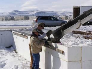Заливка морозостойкого бетона