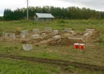 Фундамент на глинистой почве своими руками