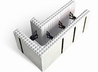 Блок несъемной опалубки - образец