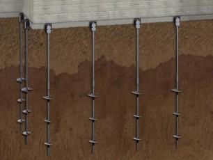 Винтовой фундамент под сарай - отличное решение
