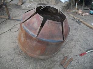 Делаем грушу для бетономешалки