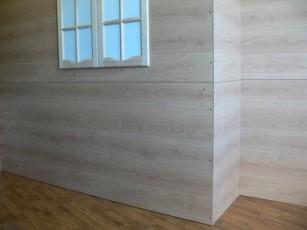 Монтаж декоративных панелей шаг 1