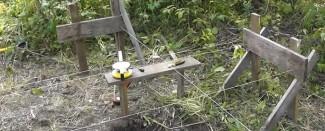 Производим разметку и земляные работы