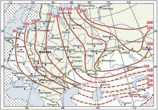 Промерзание грунта в регионах России