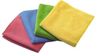Салфетки из микрофибры для мытья потолка