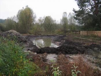 Фундамент на болотистой почве