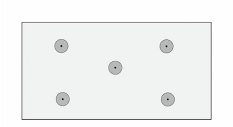 Рисунок 5 «Стандартный вариант расположения зонтиков при креплении утеплителя»