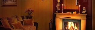 Камины электрические в интерьере гостиной