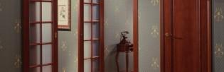 Установка межкомнатных дверей двойных распашных