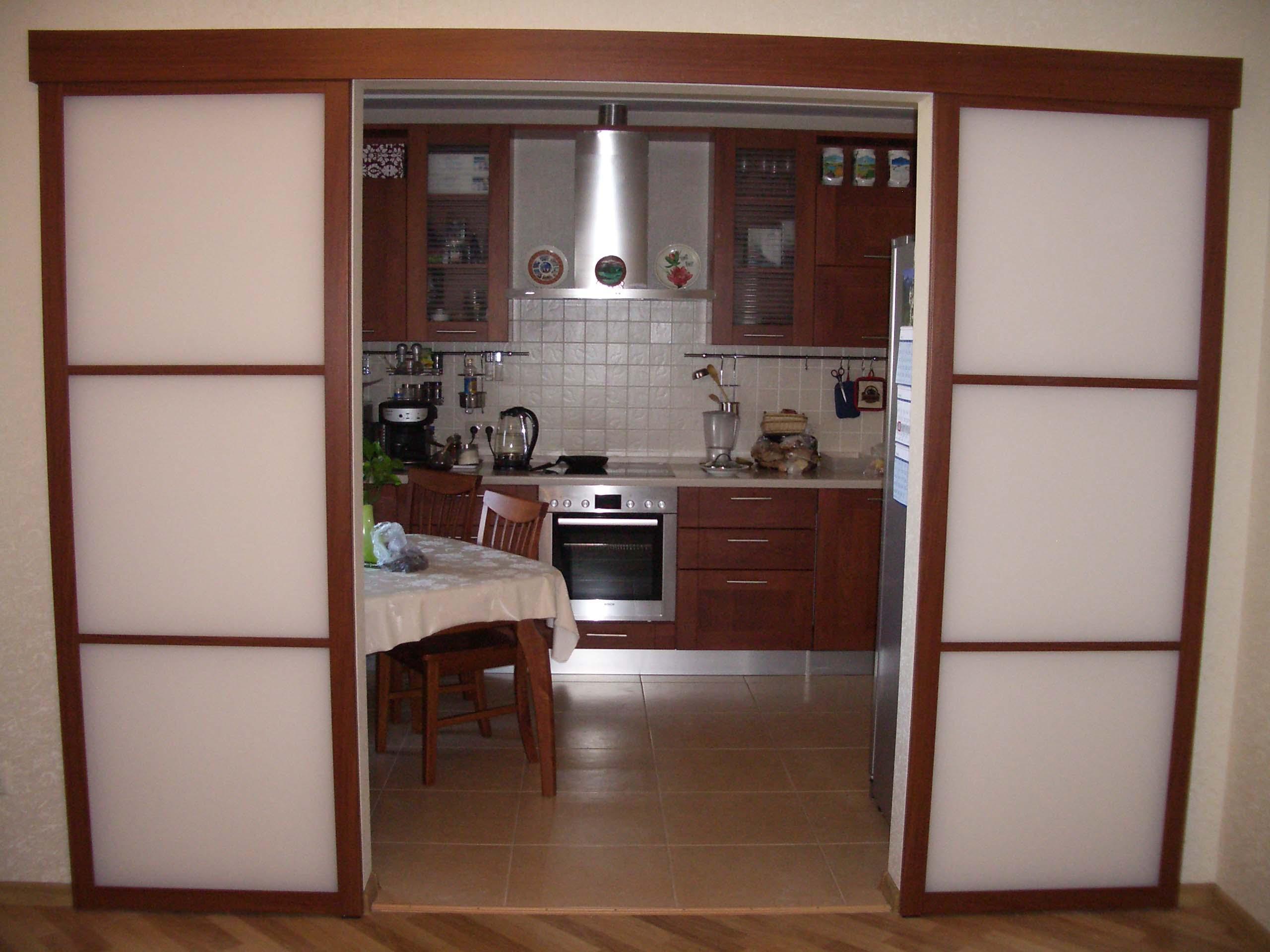 Готовое решение раздвижной двери