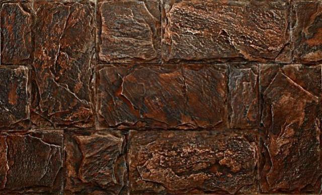 Результат кислотного окрашивания бетона