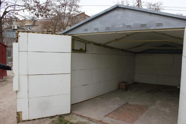 Утепленный металлический гараж