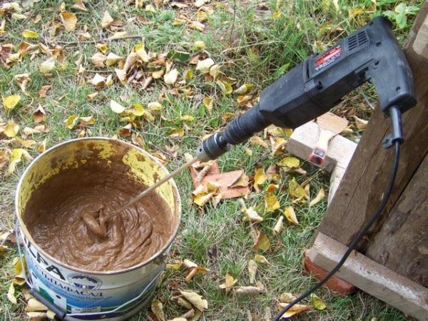 Подготовка глины для печи