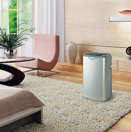Гармоничное сочетание напольного кондиционера и интерьера комнаты