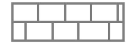 Рисунок 3 Рисунок «Крепление листов в шахматном порядке»