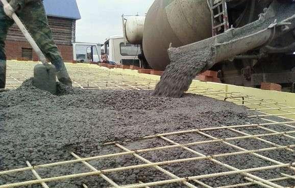 Ускорители для затвердения бетона