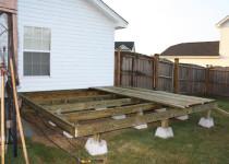 Фундамент для пристройки к деревянному дому