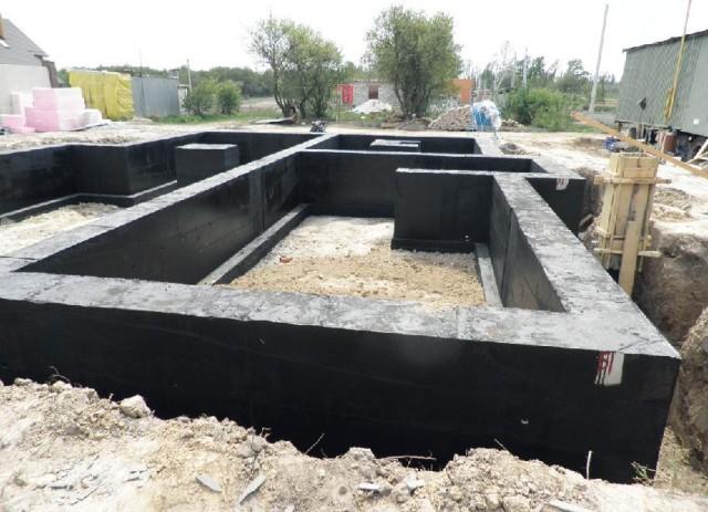 Фундамент на пучинистой почве