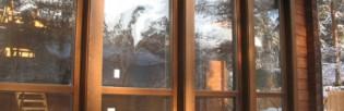 Окна деревянные эконом для дачи