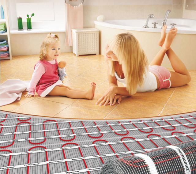 Теплый пол под плитку: какой лучше?