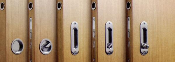 Замки для раздвижных дверей