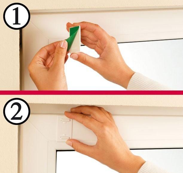 Повесить жалюзи на пластиковые окна своими руками 12