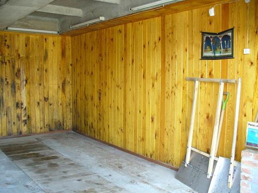 Материалы для отделки гаража внутри