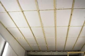 Утепление крыши гаража с помощью пенопласта