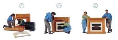Установка электрокамина с задним встраиванием угловые печи камины для дачи дровяные цена