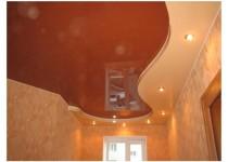Двух уровненные натяжные потолки