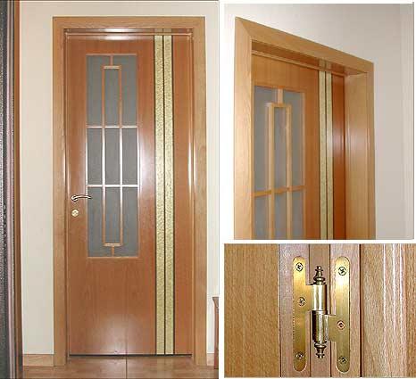 Как сделать доборы на межкомнатную дверь