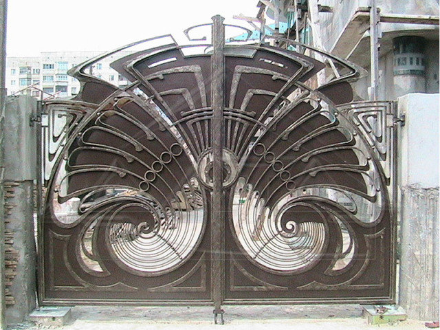 Ворота, кованные своими руками