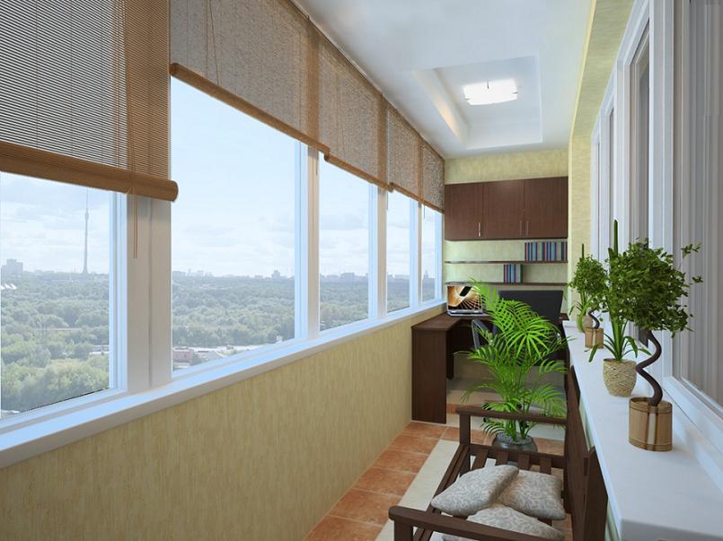 Чем лучше утеплить балкон внутри