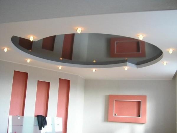 Современный взгляд на потолки
