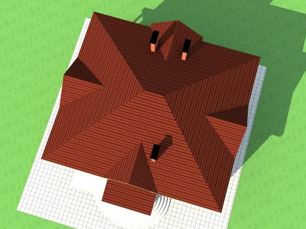 Характеристики вальмовой крыши