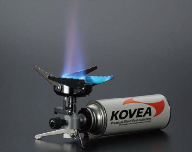 Использование газовой горелки