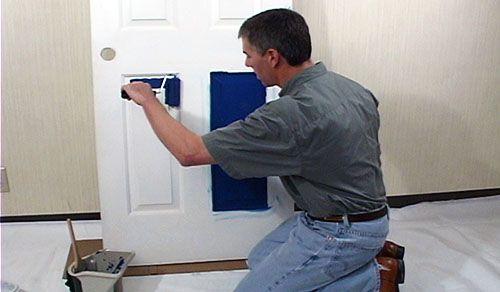 Техники покраски