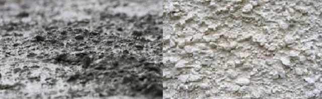 Примеры поверхности бетона