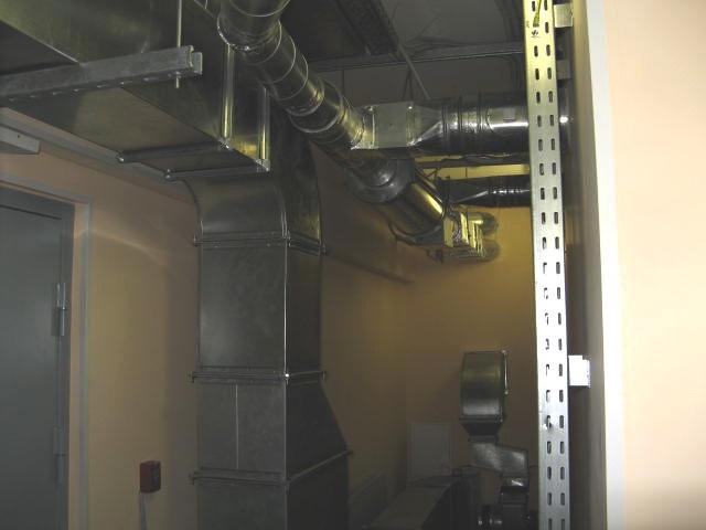 Принудительная система вентилирования