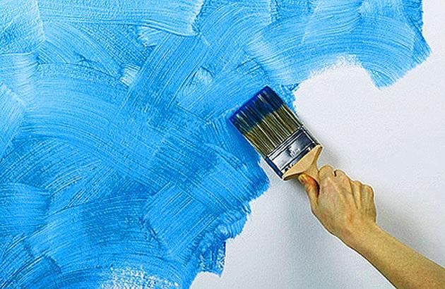 (автотепло, картина на ярко выкрашенную разноцветную фактурную штукатурку красоток