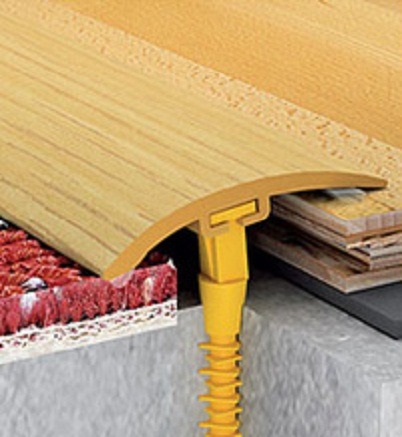 стыковка материалов на разных уровнях