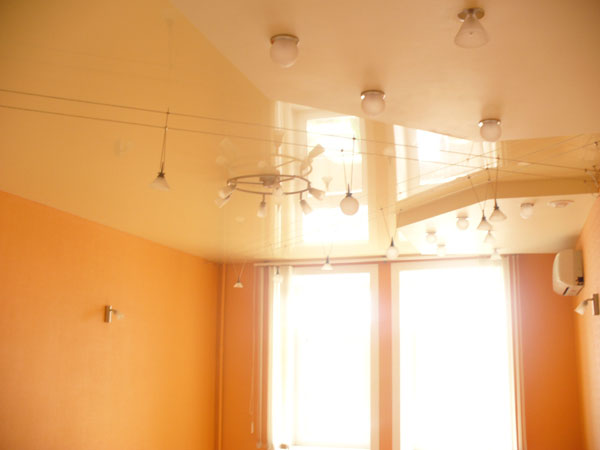 Эстетика и красота потолка