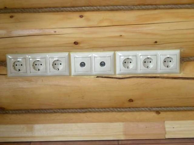 Новые возможности устанавливать электрику в деревянном доме