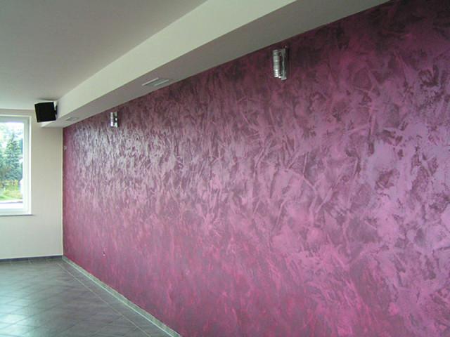 Декоративная краска для стен фото